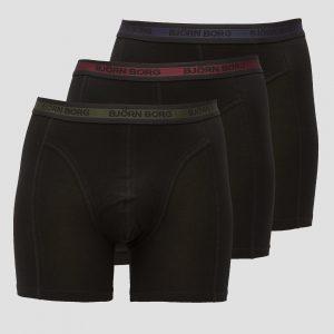 BJORN BORG Bjorn borg essential sammy boxershort 3-pack zwart heren Heren