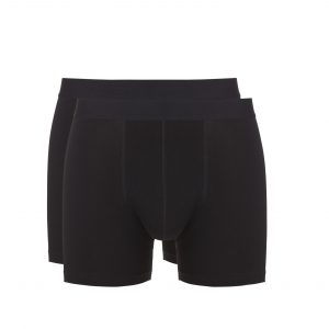 Ten Cate Heren Boxershorts 2-Pack Black/Black