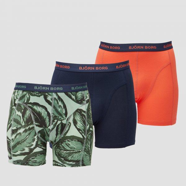 BJORN BORG Essential leafy sammy boxershorts 3-pack heren Heren